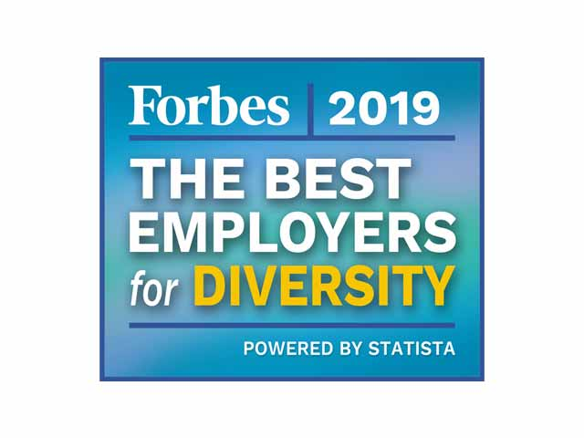Forbes Best Employer for Diversity