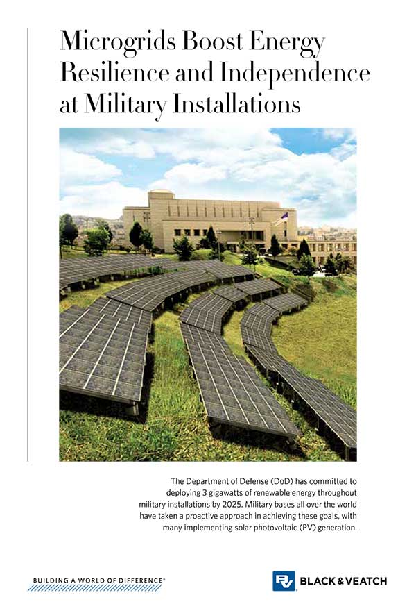 Microgrids Boost Energy Resilience and Independence at Military Installations