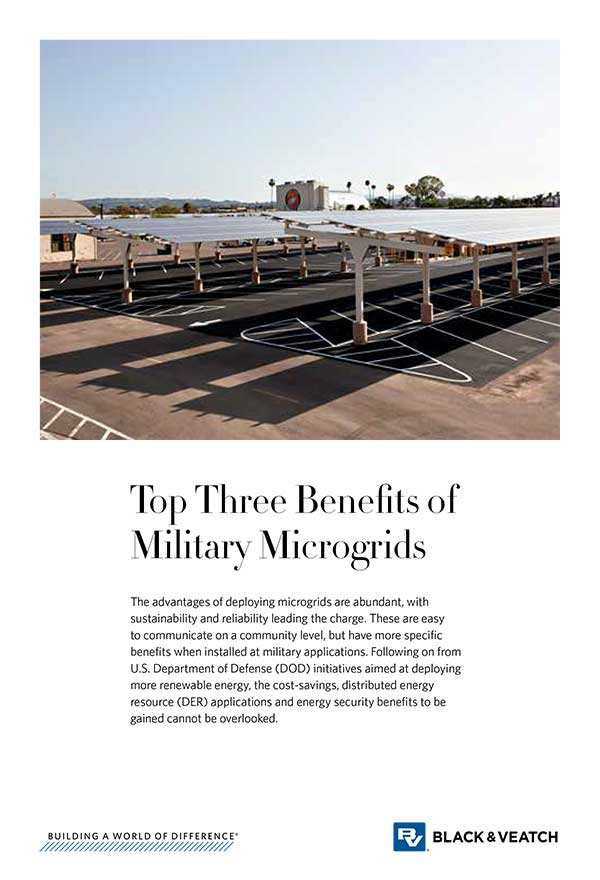Top Three Benefits of Military Microgrids