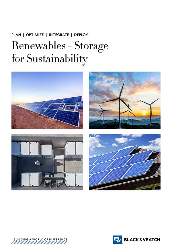 Renewables + Storage for Sustainability