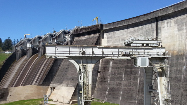 Lewis Fish Passage System