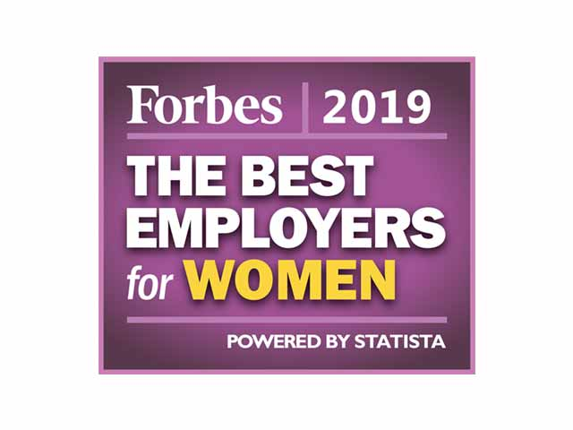 Forbes Best Employers for Women