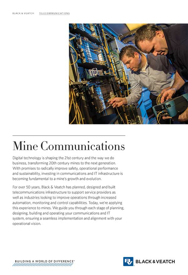 Mine Communications