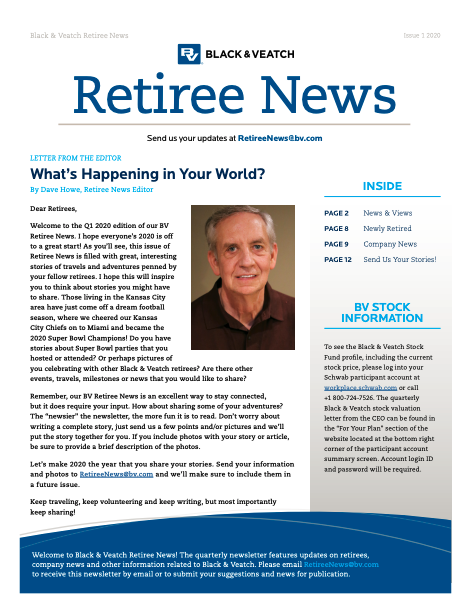 Black & Veatch Retiree News